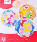 Мяч пляжный Jilong Colorful Beach Ball JL067202NPF 50см
