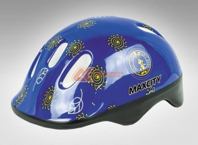 Шлем MaxCity Little Rabbit blue